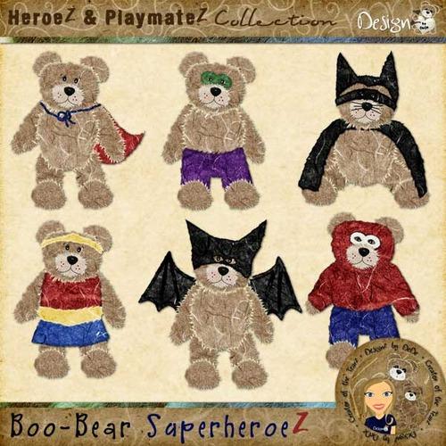 Boo-Bear SuperheroeZ