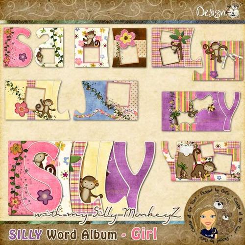 SILLY Word Album - Girl