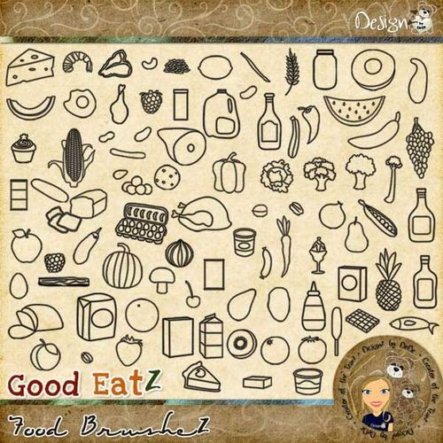 Good EatZ: Food BrusheZ