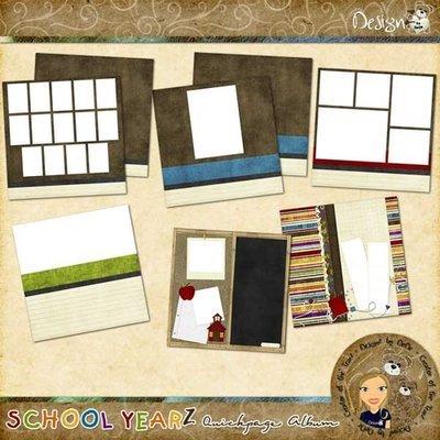 School YearZ: Quickpage Album