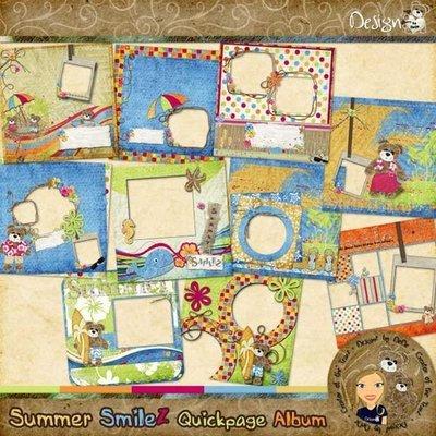 Summer SmileZ: Quickpage Album