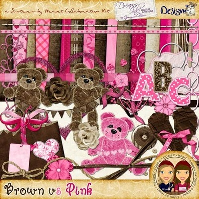 Brown vs Pink