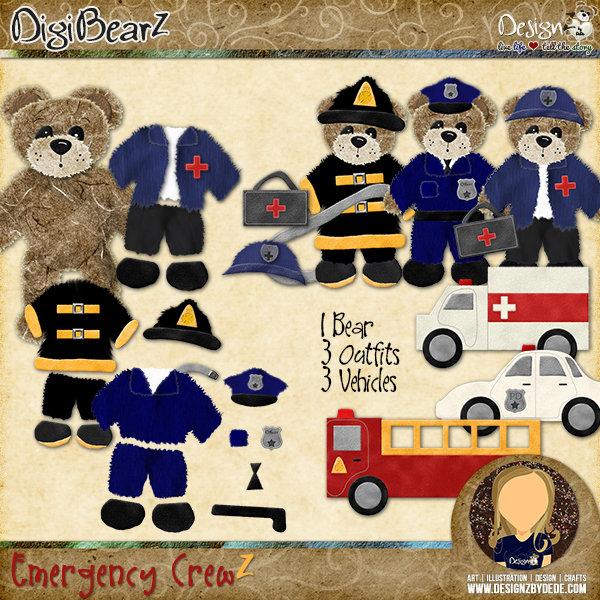 DigiBearZ | Emergency CrewZ