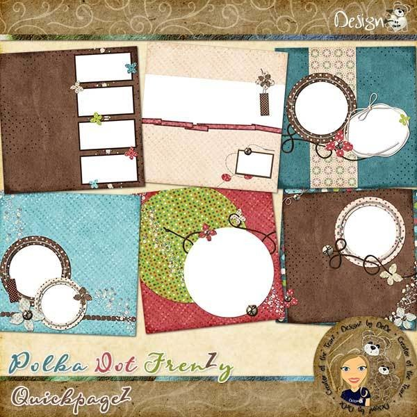 Polka Dot FrenZy: QuickpageZ