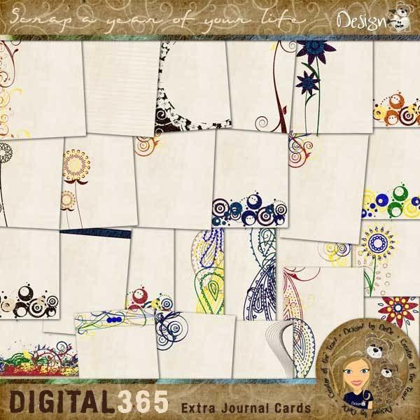 Digital 365: Extra Journaling Cards
