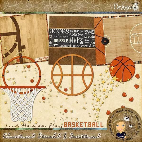 Just Haveta Play Basketball: ClusterZ StackZ & ScatterZ