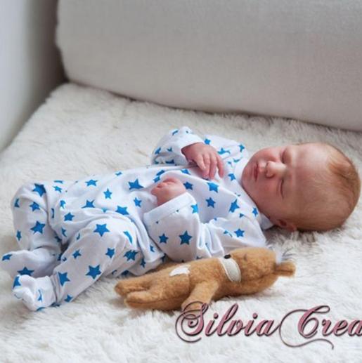 "Realborn® Logan Sleeping (19.5"" Reborn Doll Kit)"
