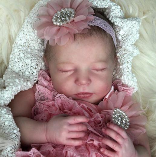 "Realborn® Brittany Sleeping (20"" Reborn Doll Kit)"
