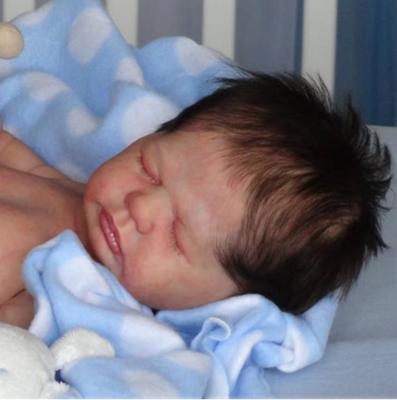"""Harper Boy (19"""" Full Body Reborn Doll Kit)"""