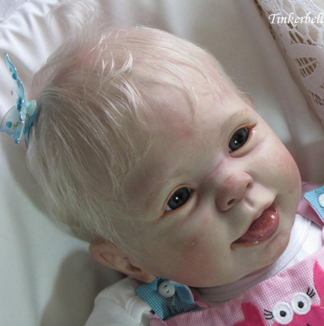 """Cookie, 9 Month Old (26"""" Reborn Doll Kit)"""