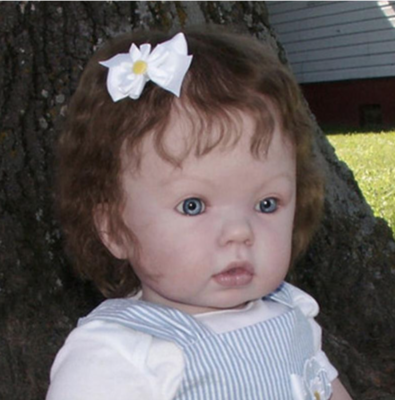 "Tibby SITTING (31"" Reborn Doll Kit"