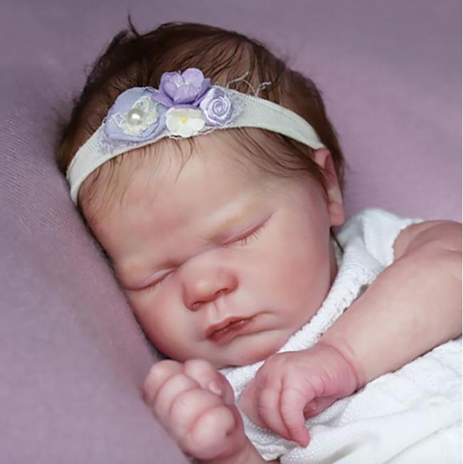 "Realborn® Lavender Sleeping (19"" Reborn Doll Kit)"