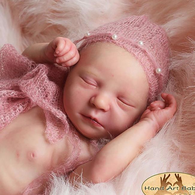 """Realborn® Marissa Sleeping (19"""" Reborn Doll Kit)"""
