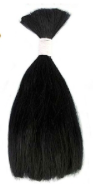 MOHAIR RUBY RED BLACK 1/4 OZ liso