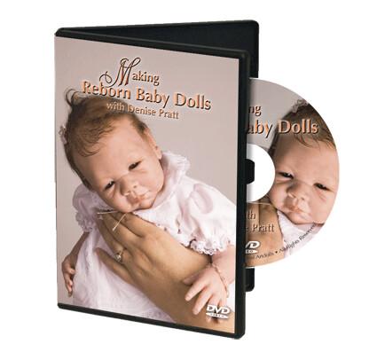 DVD, HACIENDO Reborn Baby Dolls with Denise Pratt
