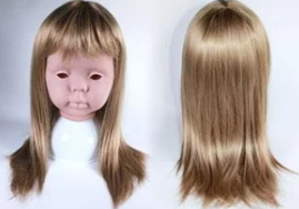Monique Peggy Sue Wig (M104) - Blonde 17/18