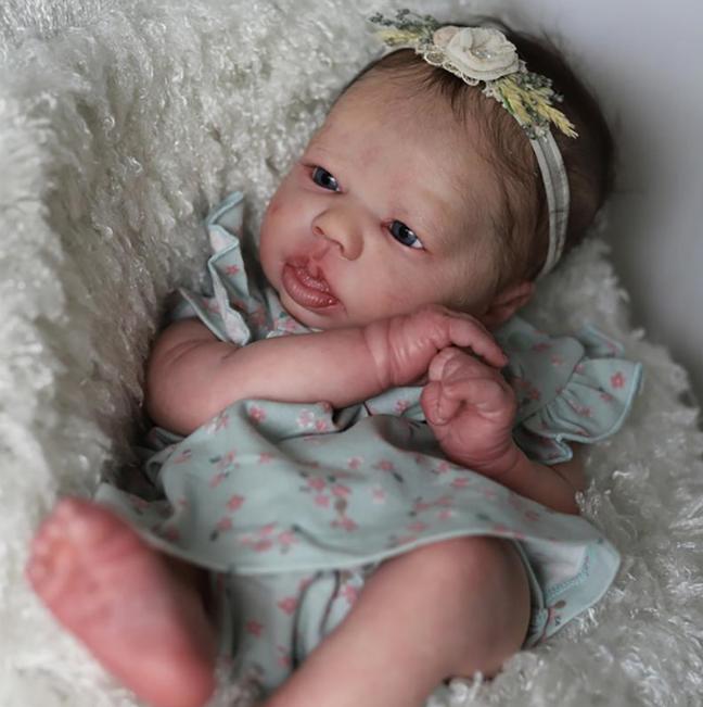 "SECONDS Realborn® Felicity Awake (18.75"" Reborn Doll Kit)"