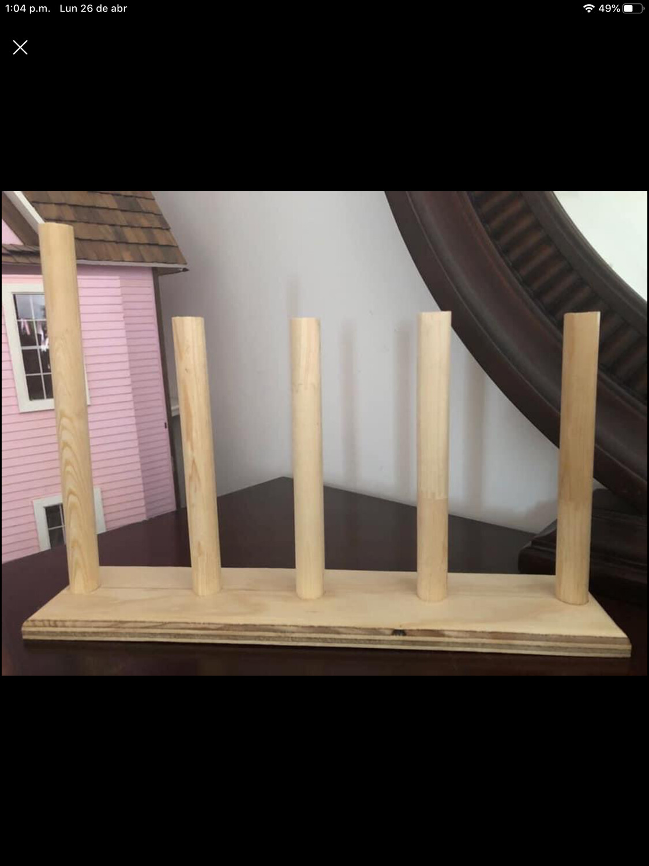 Rack de secado en madera