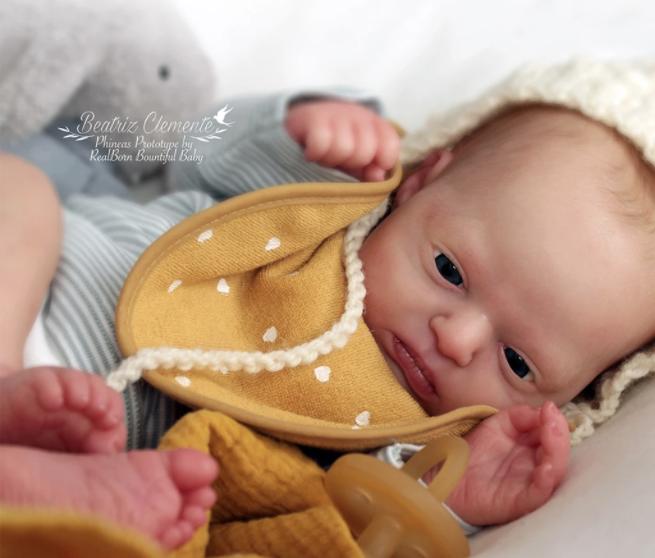 "Realborn® Phineas Awake (18"" Reborn Doll Kit)"