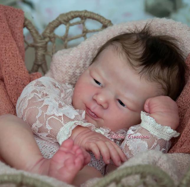"""Realborn® Leilani Awake (18"""" Reborn Doll Kit)"""