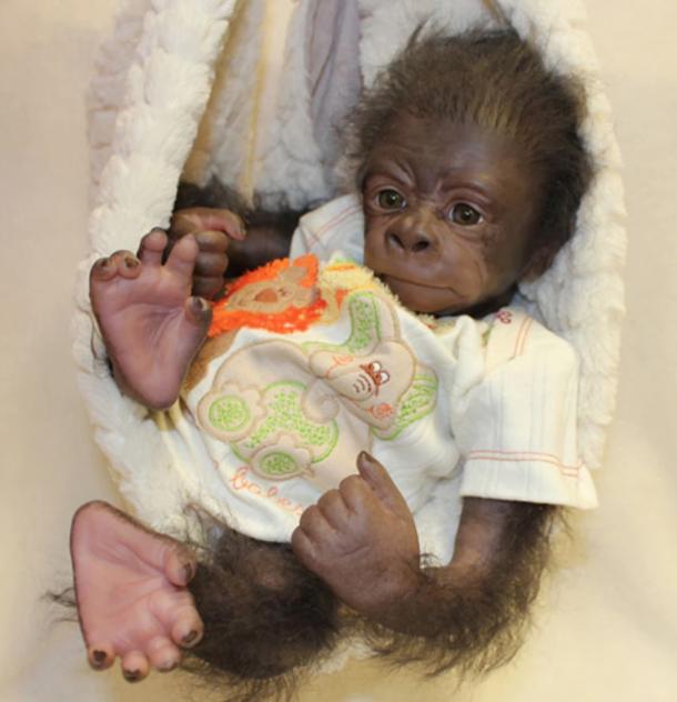 """Painted Rooted Kiwi AWAKE Gorilla (18"""" Kit)"""