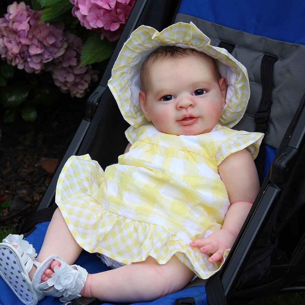 "MICHELLE , 6 Month Old (23"" Reborn Doll Kit)"