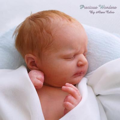 "Realborn® Martin Sleeping (18.5"" Reborn Doll Kit)"