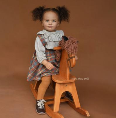 """Realborn® June 3 Year Toddler (36"""" Reborn Doll Kit)"""