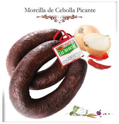 Morcilla de Cebolla Casera Picante