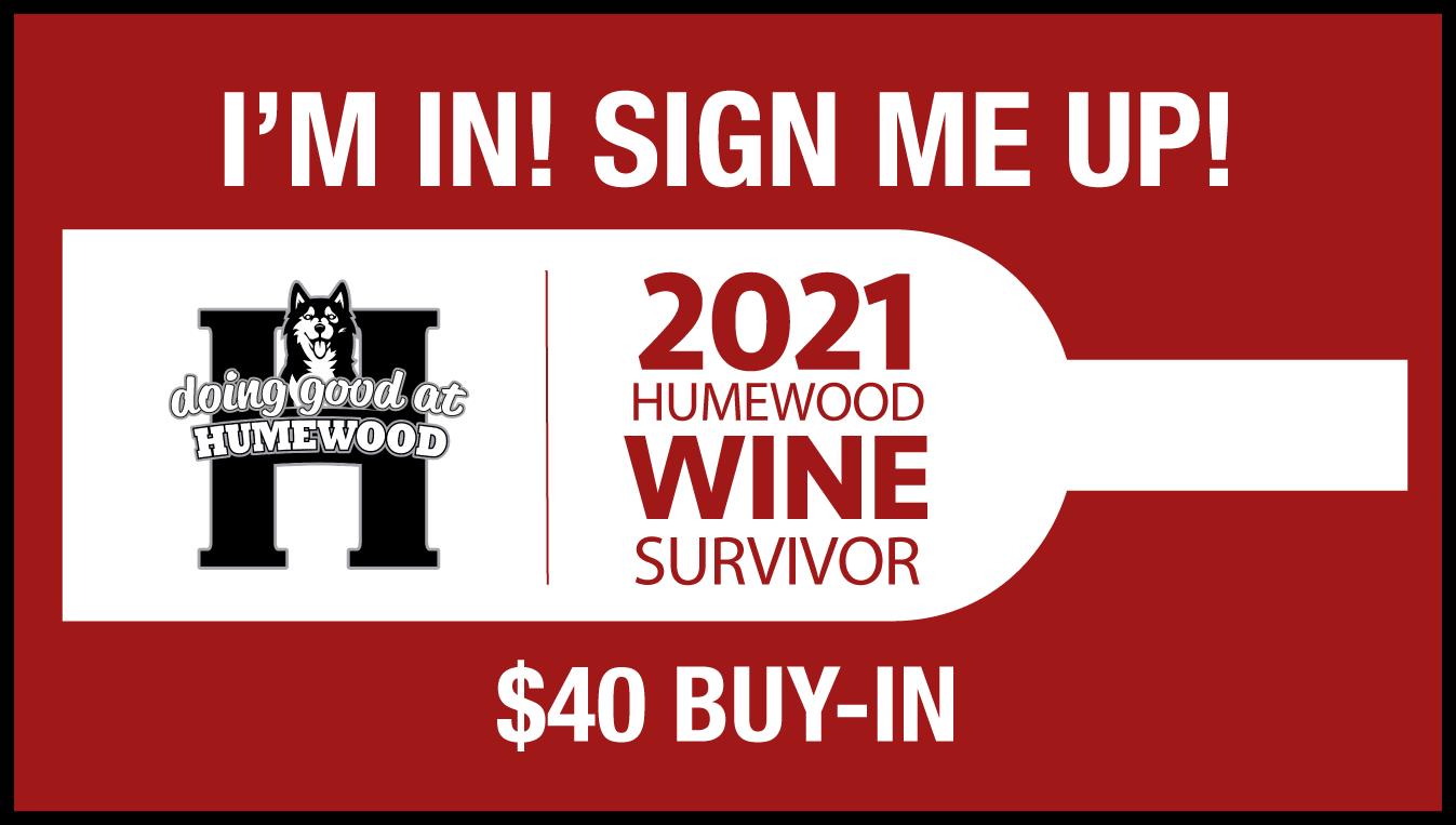 Humewood School Wine Survivor $40 tickets