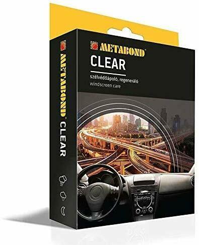 METABOND CLEAR - Trattamento parabrezza esterno Camion/Auto