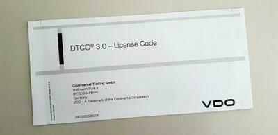 DTCO UPDATE Licenza per sblocco porta frontale Versioni 3.0 o superiori