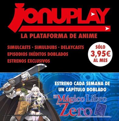 JONUPLAY PASE MENSUAL 3.95€