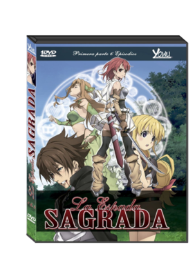 LA ESPADA SAGRADA DVD VOL.1