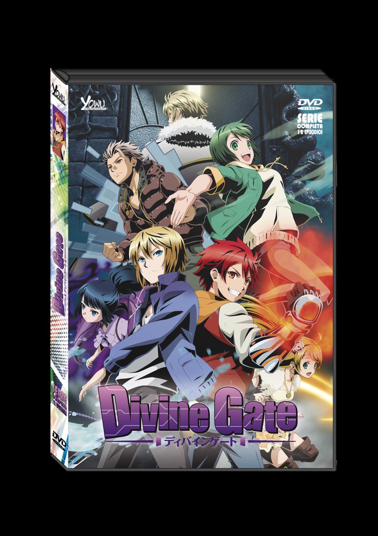 DIVINE GATE SERIE COMPLETA DVD(DOBLADA EN ESPAÑOL)