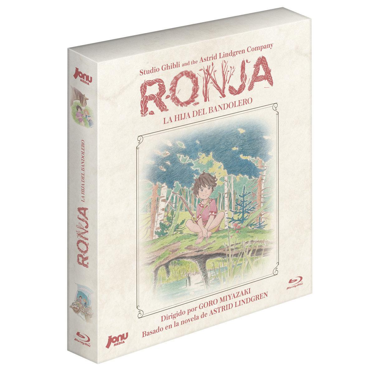 Ronja, la hija del bandolero (Blu-Ray) + Ilustración Firmada Goro Miyazaki