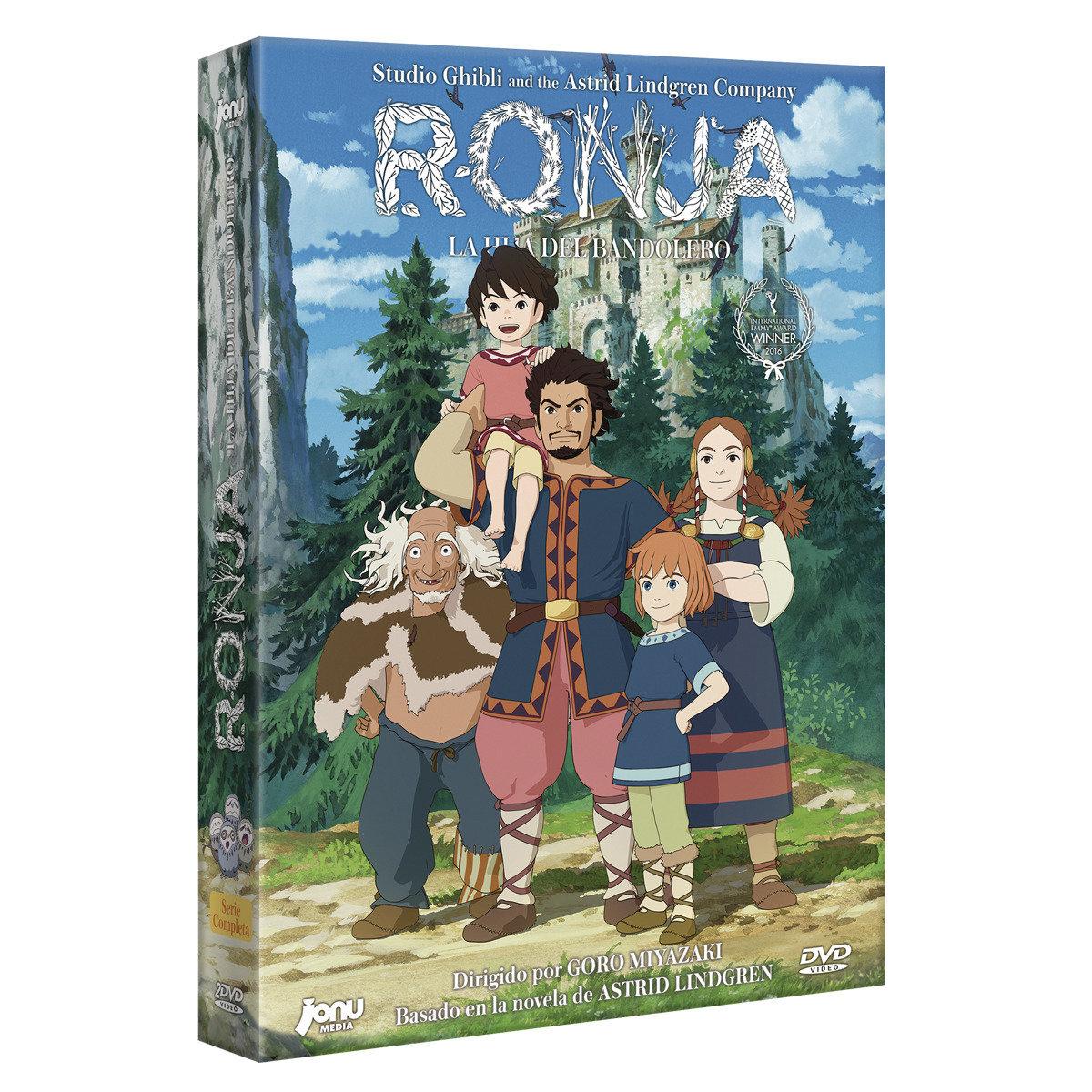 Ronja, la hija del bandolero [DVD] + Ilustración firmada Goro Miyazaki