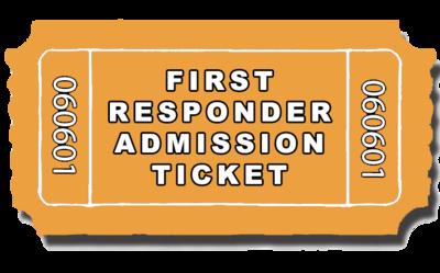 First Responder Admission Ticket