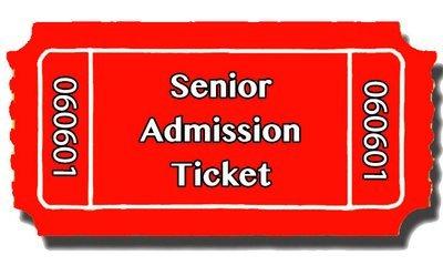 Senior Admission Ticket