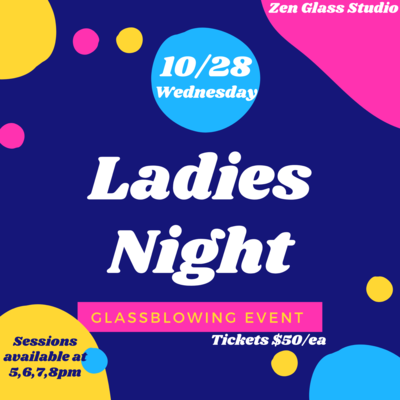 Ladies Night Wednesday October 28th 5pm