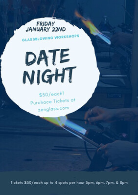 Date Night Friday January 22th 5pm