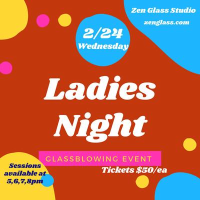 Ladies Night Wednesday February 24th 8pm