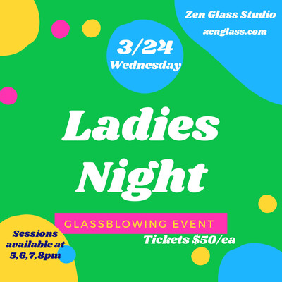 Ladies Night Wednesday March 24th 5pm