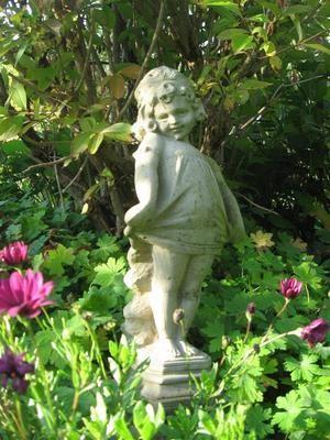Gartenfigur h 84 cm - KEIN VERSAND!
