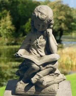Gartenfigur Mädchen h 30 cm - KEIN VERSAND!