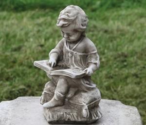 Gartenfigur Junge h 30 cm - KEIN VERSAND!