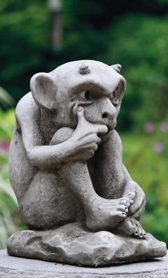 Gartenfigur Gremlin h 23 cm - KEIN VERSAND!