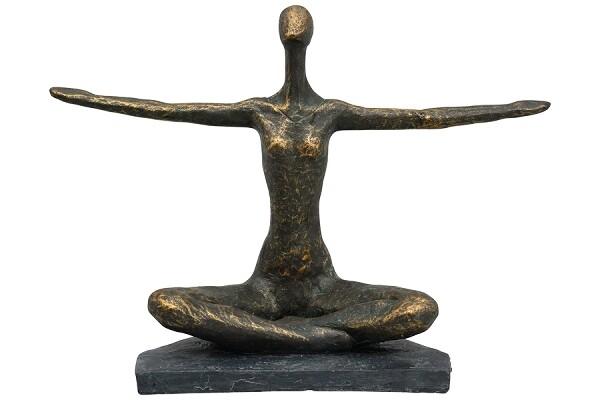 Skulptur Yoga