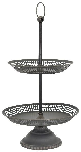 Etagere, Metall - 35x35x65 cm