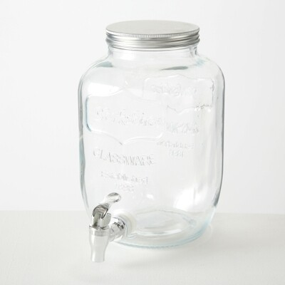 Getränkespender 4l, Glas